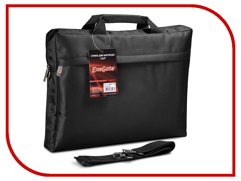 Аксессуар Сумка 15.6-inch ExeGate Start S15 Black