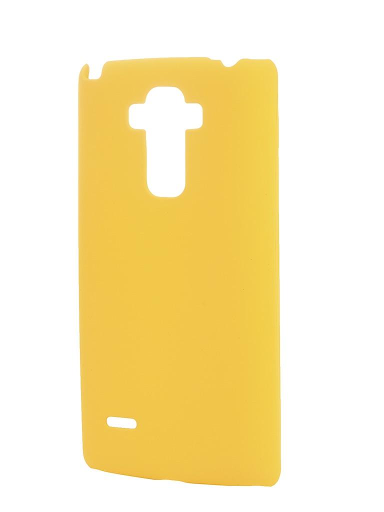 Аксессуар Чехол-накладка LG G4 Stylus SkinBox 4People Yellow T-S-LG4Stylus-002 + защитная пленка<br>