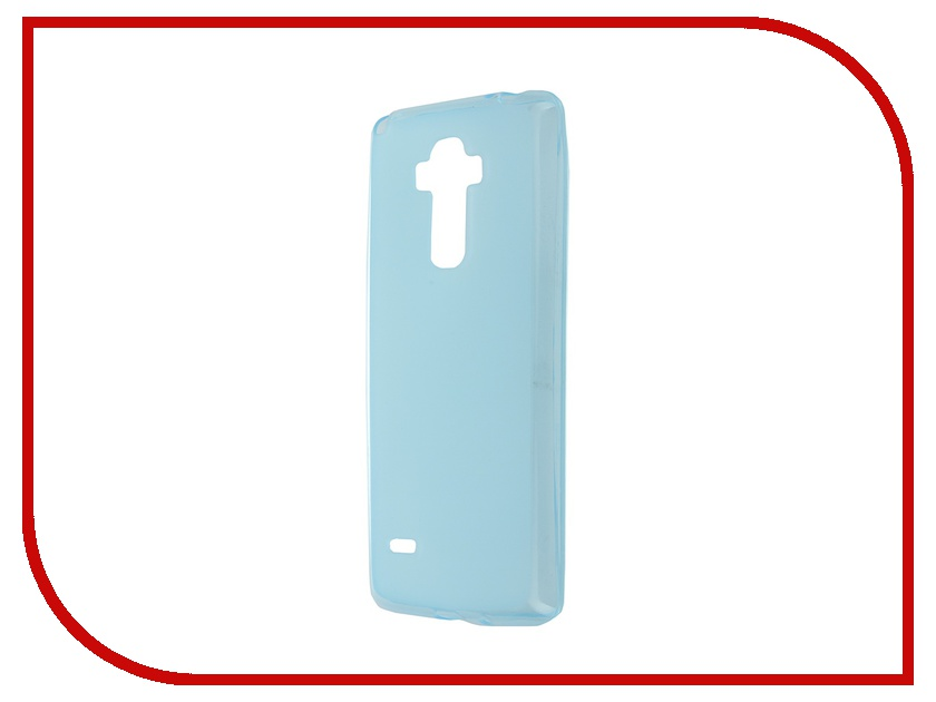 Аксессуар Чехол-накладка LG G4 Stylus SkinBox Sheild Silicone Blue T-S-LG4Stylus-005
