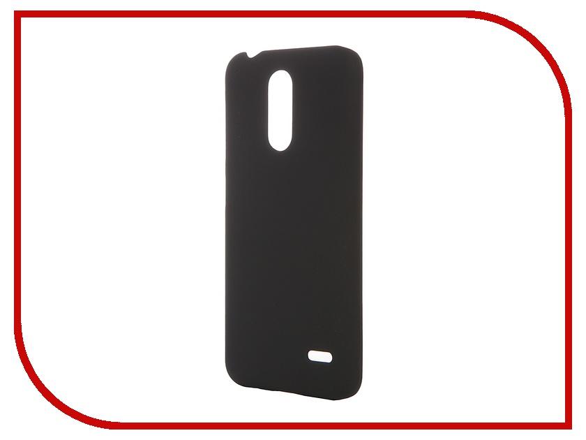 Аксессуар Чехол-накладка ZTE Blade X5 SkinBox 4People Black T-S-ZBX5-002 + защитная пленка