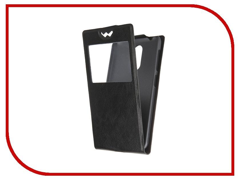 Аксессуар Чехол-флип ZTE Blade X5 SkinBox Slim AW Black T-F-ZBX5-001