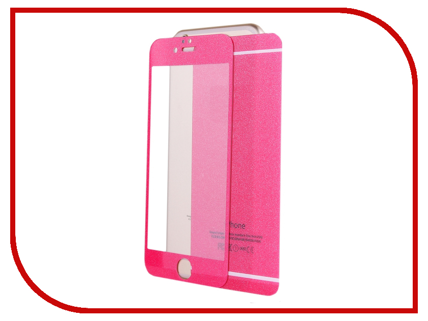 ��������� �������� ������ Activ Glass Diamond Front & Back ��� iPhone 6 Pink 51484
