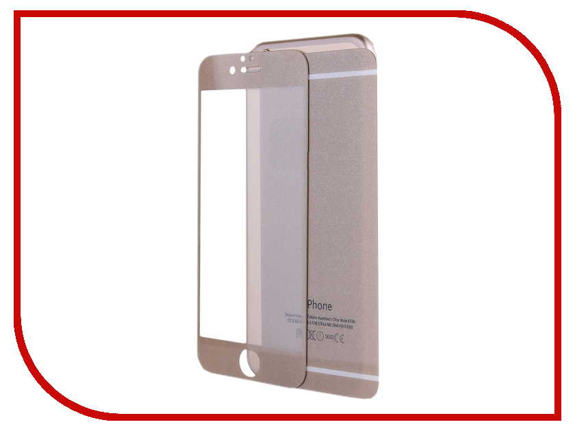 ��������� �������� ������ Activ Glass Diamond Front & Back ��� APPLE iPhone 6 Gold 51480