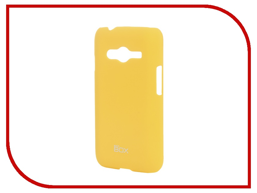 Аксессуар Чехол-накладка SkinBox for Samsung Galaxy Ace SM-G313/318 Shield 4People Yellow T-S-SSMG313H-002<br>