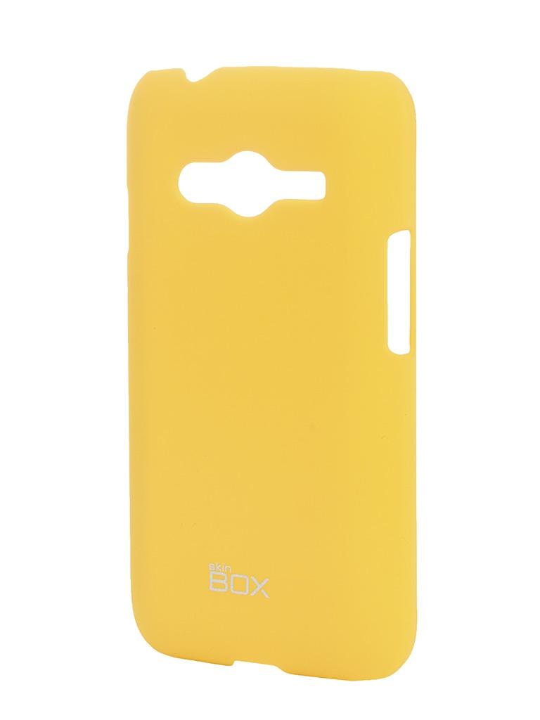Аксессуар Чехол-накладка SkinBox for Samsung Galaxy Ace SM-G313/318 Shield 4People Yellow T-S-SSMG313H-002<br>