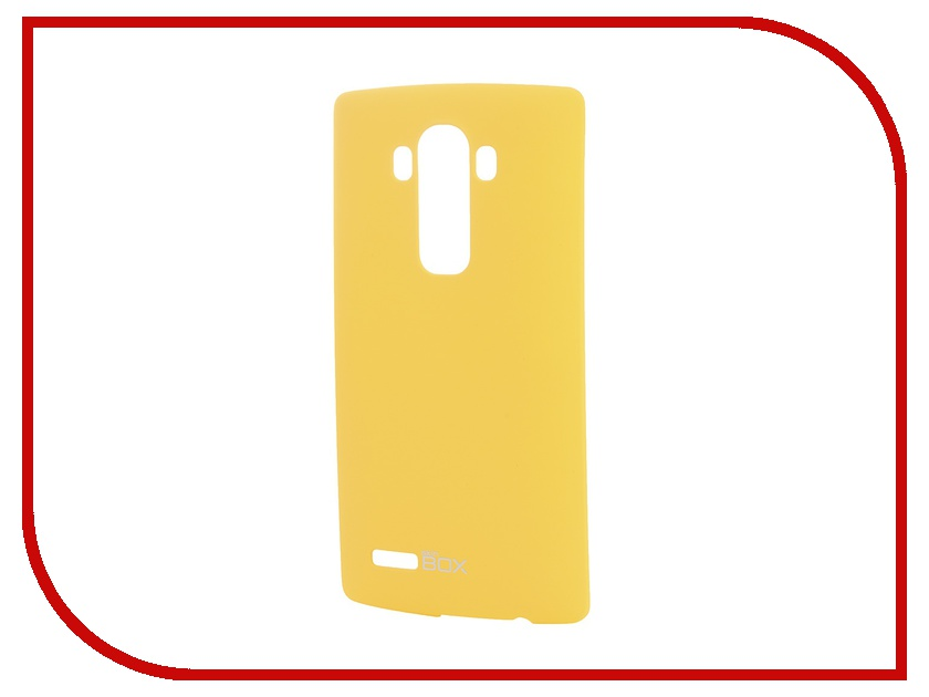 Аксессуар Чехол-накладка LG G4 SkinBox 4People Yellow T-S-LG4-002 + защитная пленка<br>