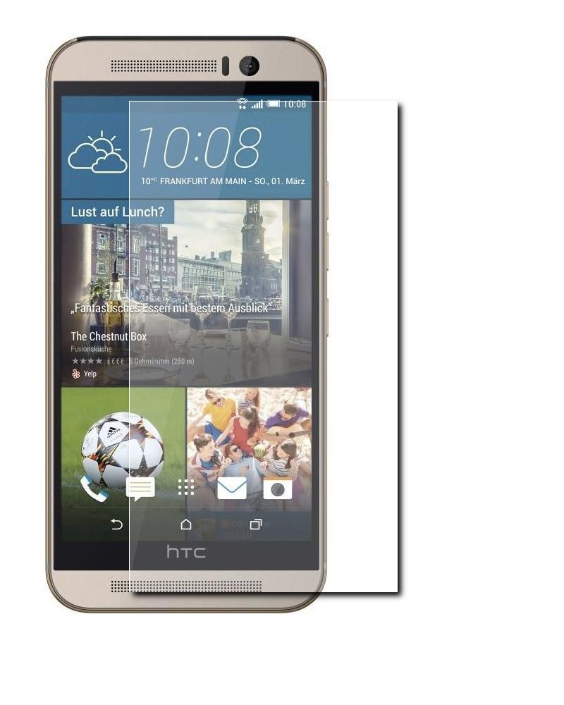 Аксессуар Защитное стекло HTC One M9 0.3mm, 2.5D SkinBox Glossy SP-120<br>