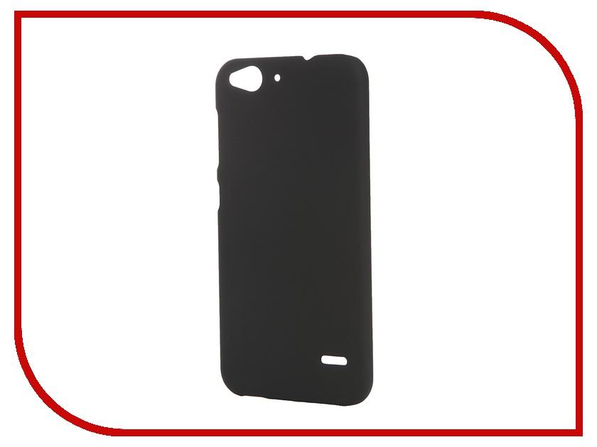 Аксессуар Чехол-накладка ZTE Blade S6 SkinBox 4People Black T-S-ZBS6-002 + защитная пленка