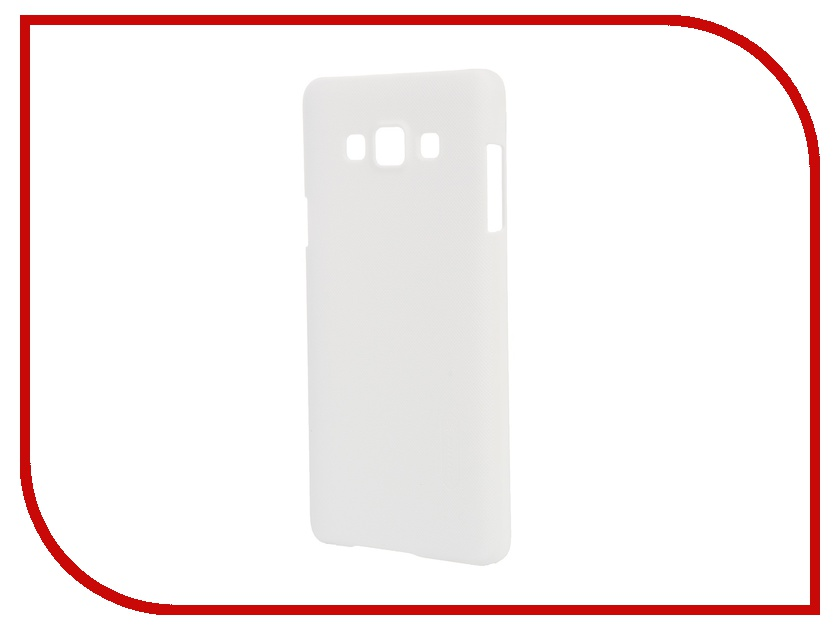 Аксессуар Чехол-накладка Samsung Galaxy A7 A700 Nillkin Frosted Shield White<br>