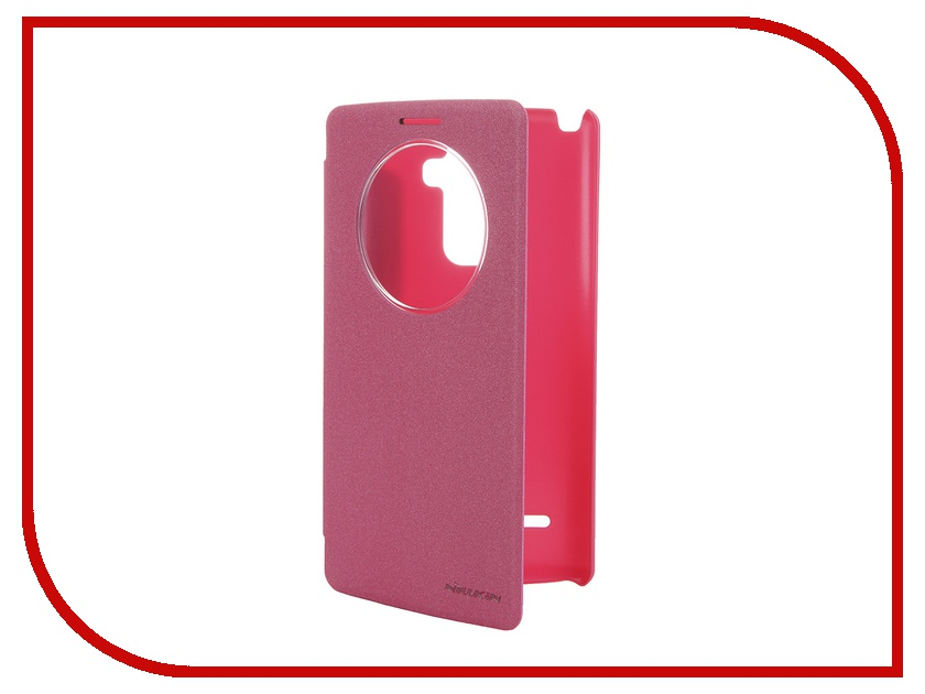 все цены на  Аксессуар Чехол LG G4 Stylus Nillkin Sparkle Red  онлайн