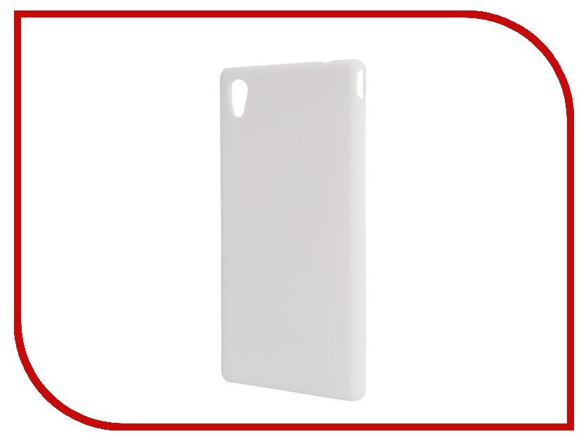 Аксессуар Чехол-накладка Sony Xperia M4 Aqua Nillkin Frosted Shield White<br>