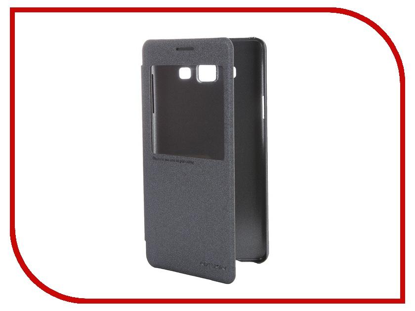 Аксессуар Чехол Samsung Galaxy A7 A700 Nillkin Sparkle Black<br>