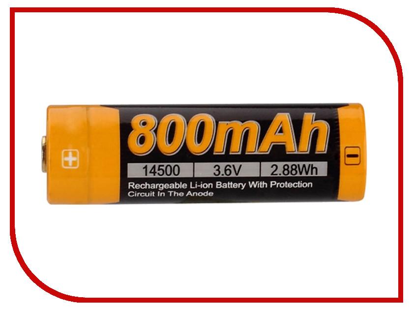 Аккумулятор Fenix 14500 800 mAh ARB-L14-800 (1 штука)<br>