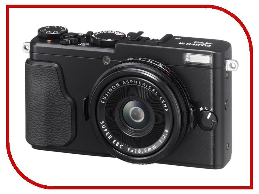 Фотоаппарат FujiFilm X70 Black кеды set session