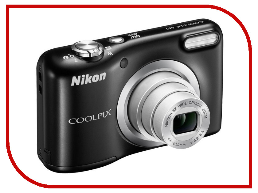 Фотоаппарат Nikon Coolpix A10 Black<br>