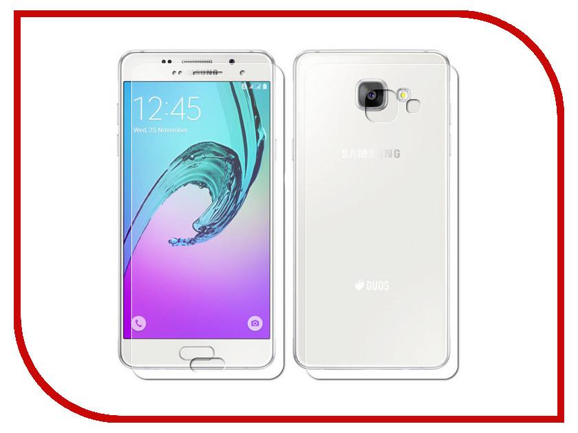 Аксессуар Защитная пленка Samsung Galaxy A5 2016 Front&amp;Back LuxCase суперпрозрачная 52549<br>