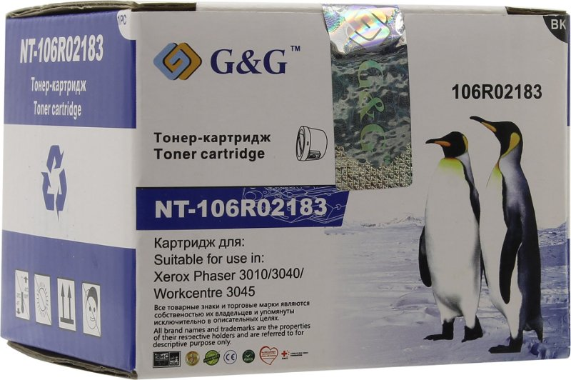 Картридж G&G NT-106R02183 для Xerox Phaser 3010/3040 WorkCentre 3045