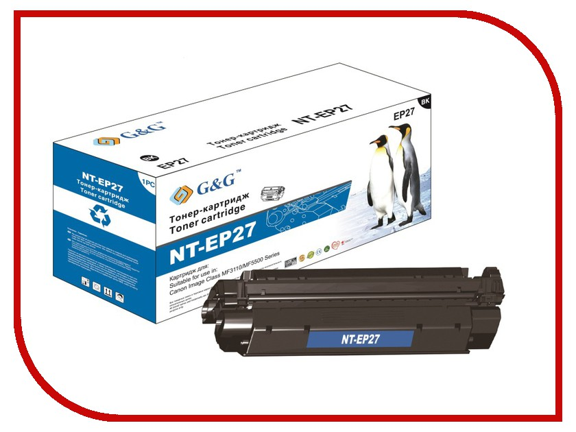 Картридж G&amp;G NT-EP27 for Canon MF3110/MF5500<br>
