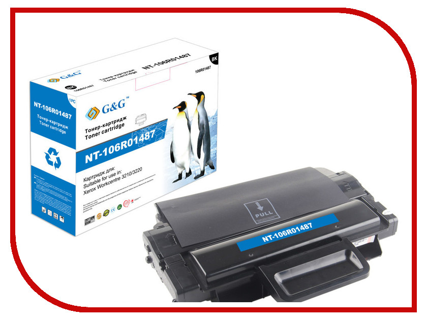 Картридж G&amp;G NT-106R01487 for Xerox WorkCentre 3210/3220<br>