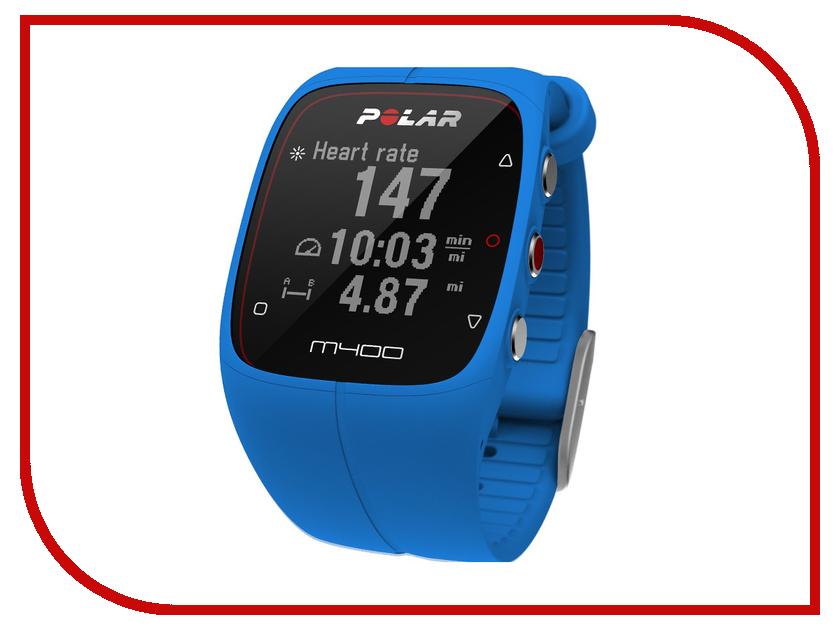 Пульсометр Polar M400 Blue