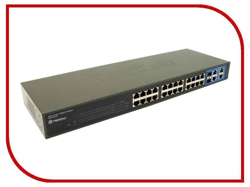 Коммутатор TRENDnet TEG-424WS