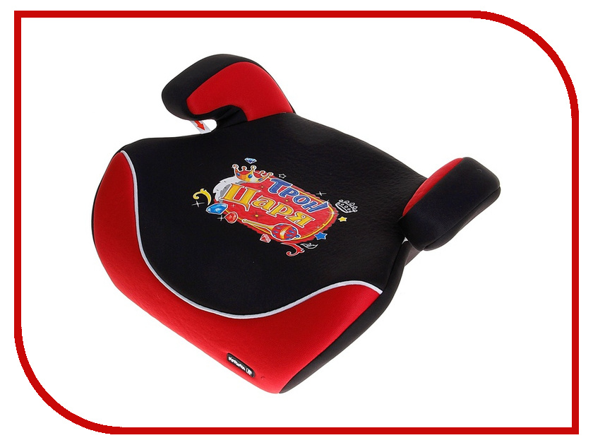 Автокресло Крошка Я Трон Царя Black-Red 517436 от Pleer