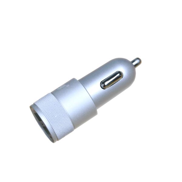 Зарядное устройство Ainy 2xUSB 1A/2.4A EB-018Q Silver