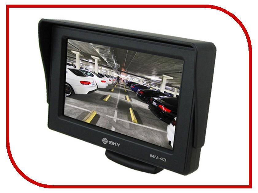 Монитор в авто SKY MN-43 PLV-MON-430 sky sky cadmium cd dvd