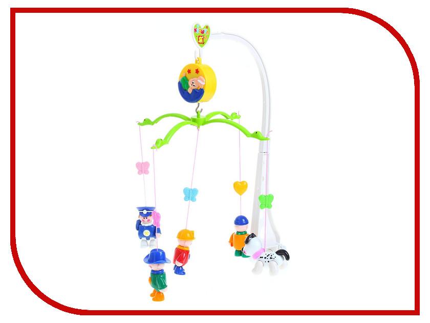 Музыкальный мобиль Крошка Я Веселые животные №SL-2101D 694024