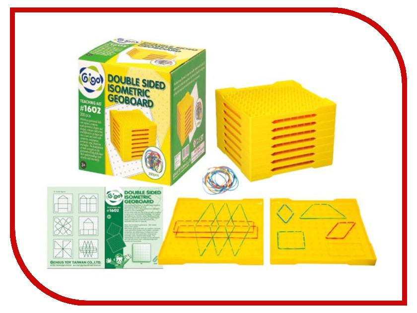 Игрушка Gigo Double Sided Isometric Geoboard 1602<br>