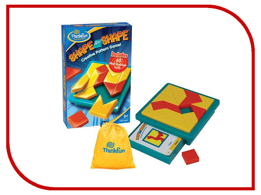 Игрушка ThinkFun Shape By Shape 5941-RU<br>