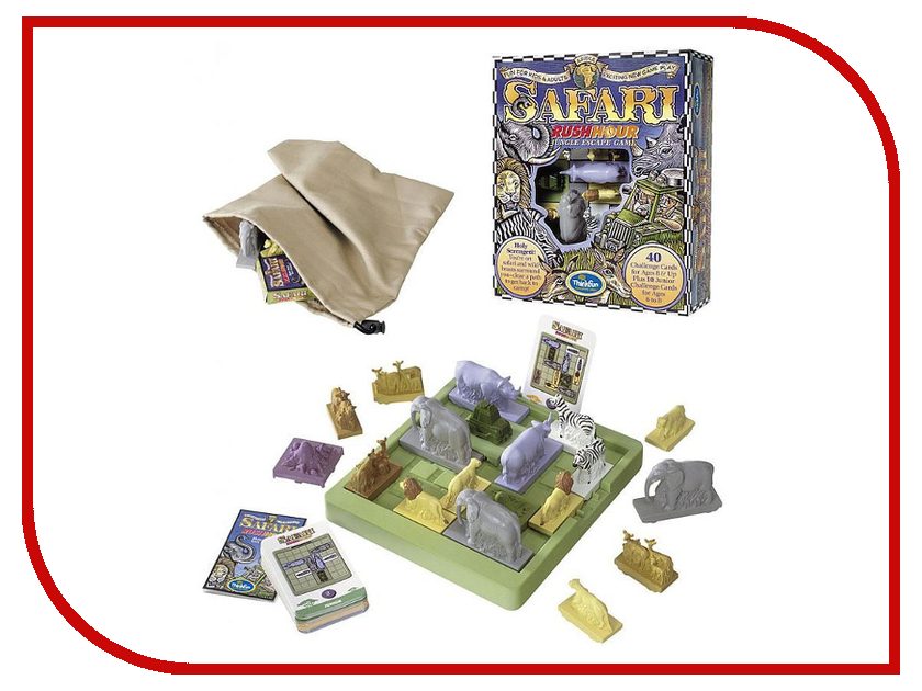 Игрушка ThinkFun Safari Rush Hour 4100-RU<br>