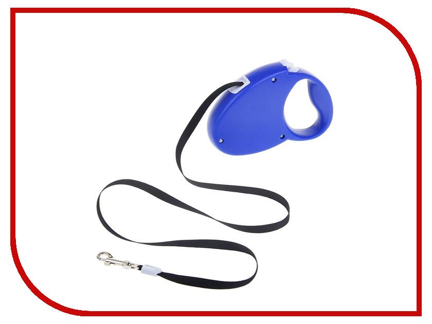 Рулетка Пижон Soft touch 3м 1212603 Blue