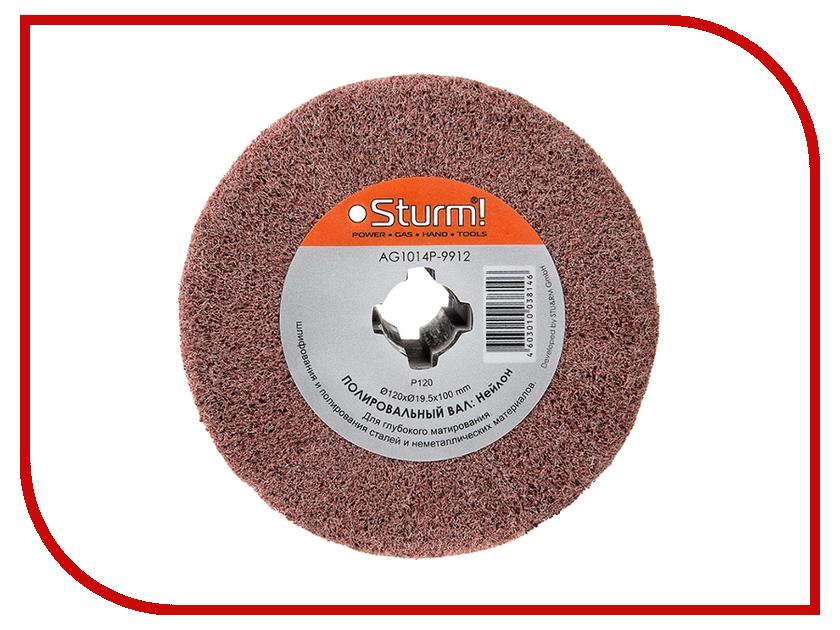 Диск Sturm! AG1014P-9912 щетка, нейлон, 120x19.5x100mm<br>
