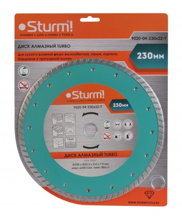 Диск Sturm! 9020-04-230x22-T<br>