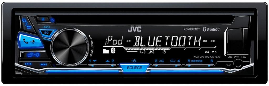 Автомагнитола JVC KD-R871BT<br>