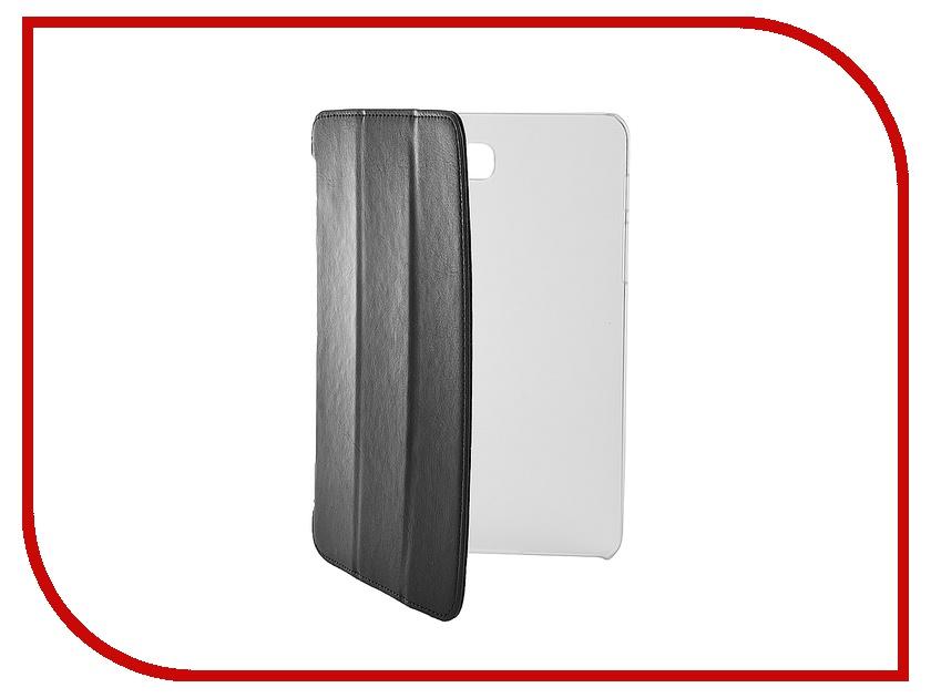 Аксессуар Чехол-книжка Samsung Galaxy Tab S2 T715 LTE 8 iBox Premium Black прозрачная задняя крышка