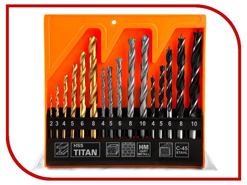 Сверло Sturm! 1055-01-SS4 по металлу / бетону / дереву 16шт стамеска sturm 14мм 10630114
