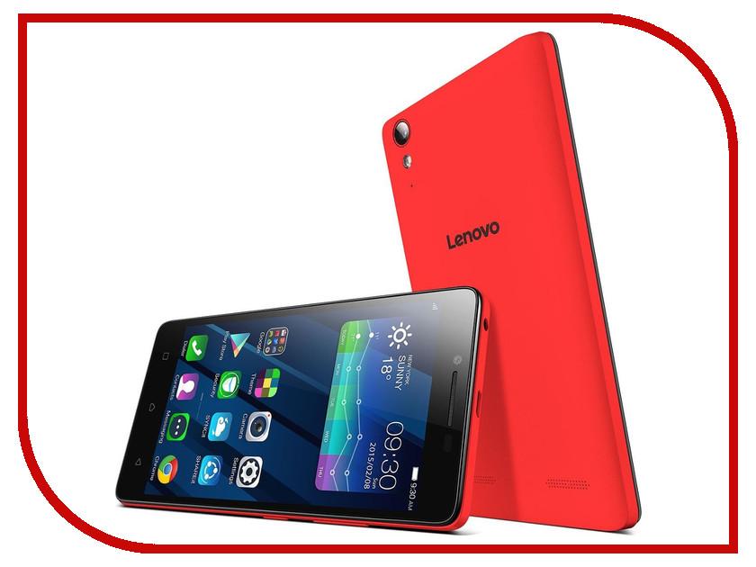 Сотовый телефон Lenovo A6010 16Gb Red<br>