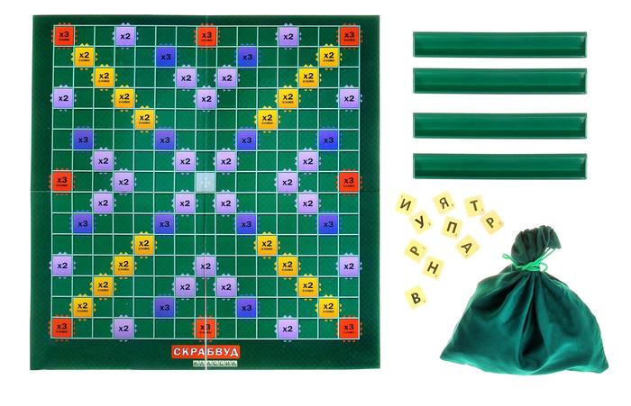 Настольная игра ЛасИграс Скрабвуд 1012949