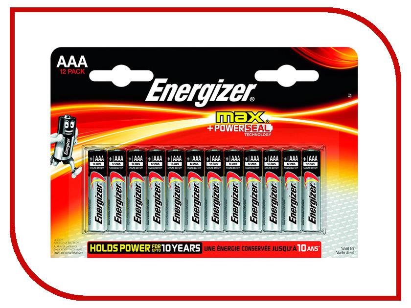Батарейка AAA - Energizer LR03 Max (12 штук) E300103700<br>