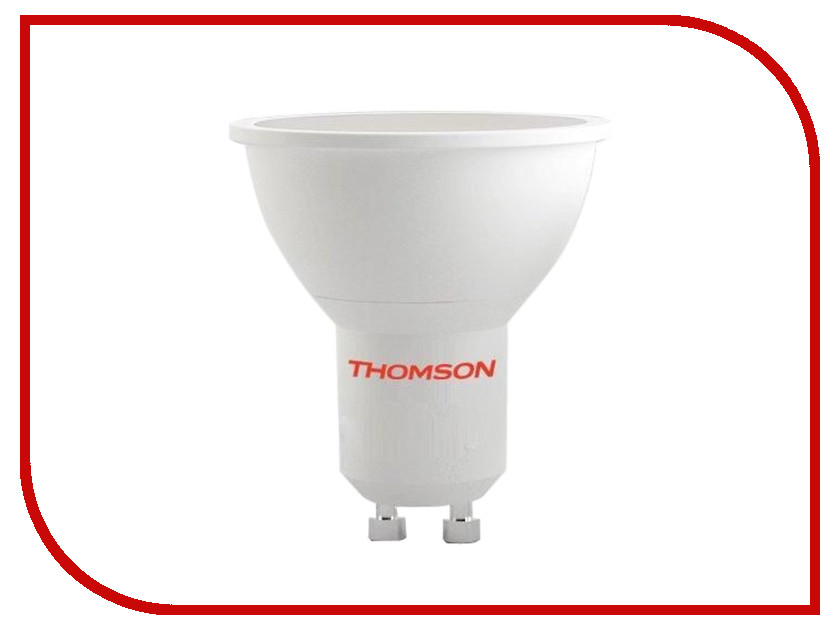 Лампочка Thomson MR16 GU10 6.5W 3000K 220-240V TM-MR16W-7W-GU10<br>