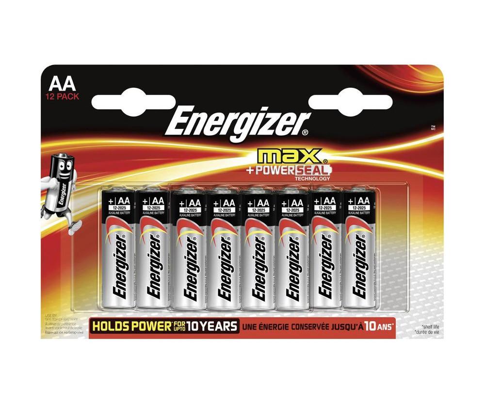 Батарейка AA - Energizer Max AA/LR6 (12 штук) E301531401 / 26038