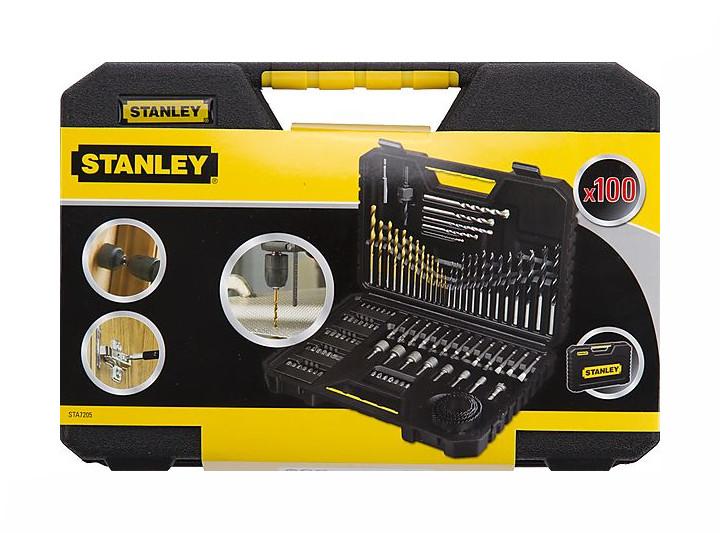 Набор сверл и бит Stanley 100 предметов STA7205-XJ