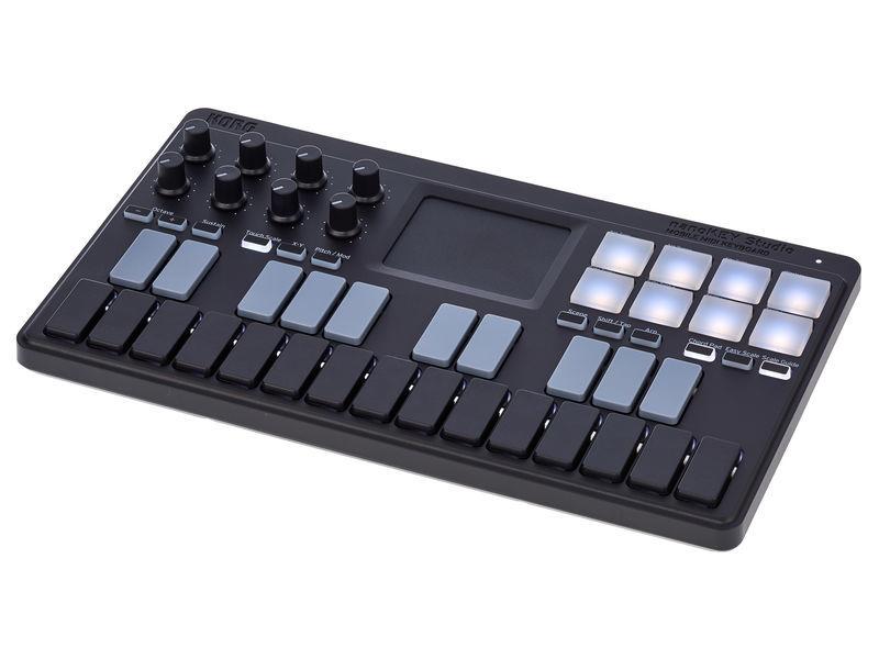 MIDI-контроллер KORG nanoKEY korg slm 1cm slimpitch