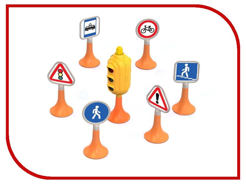Машина Нордпласт Дорожные знаки №1 885 фигурки игрушки лэм дорожные знаки
