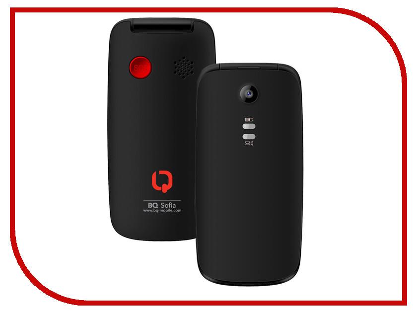 Сотовый телефон BQ BQM-2001 Sofia Black<br>