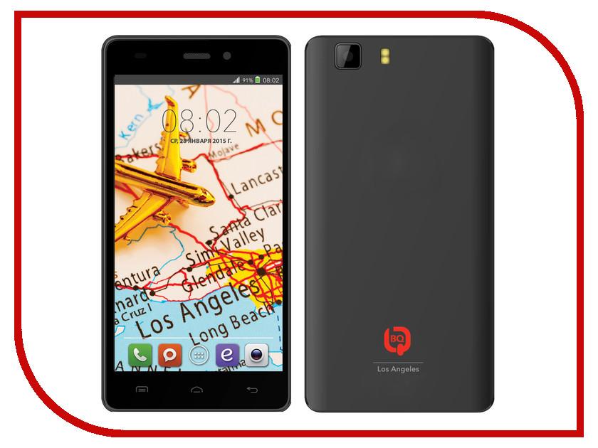Сотовый телефон BQ BQS-5006 Los Angeles Black<br>