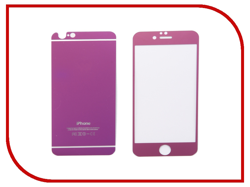 ��������� �������� ������ Activ Glass Diamond Front & Back ��� iPhone 6 Violet
