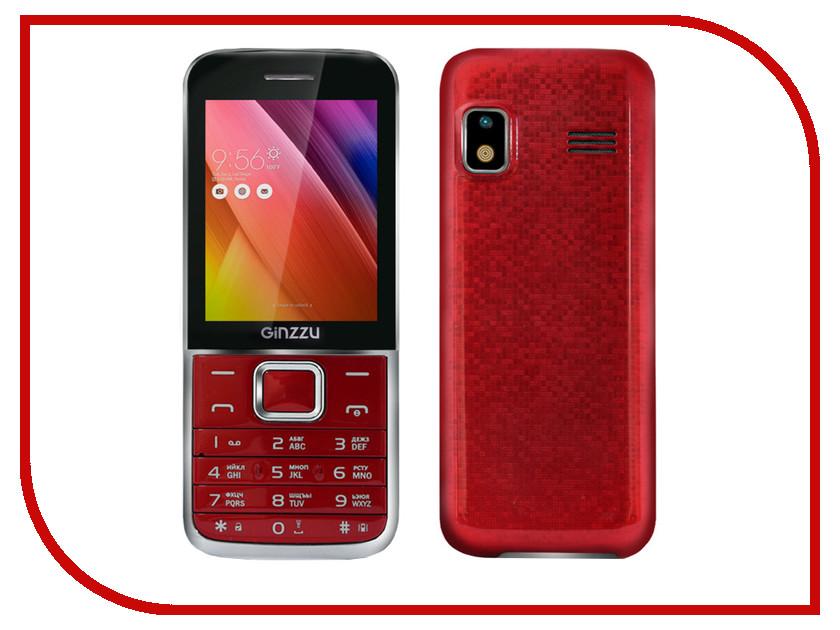 Сотовый телефон Ginzzu M101 DUAL Red